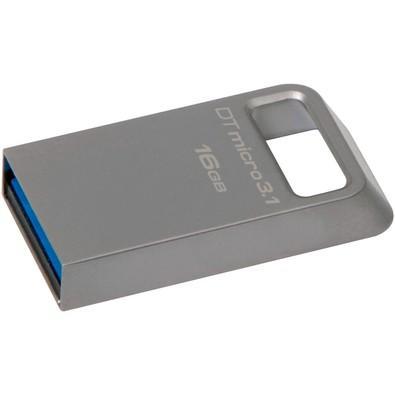 Pen Drive Kingston DataTraveler USB 3.1 Ultrapequeno 16GB - DTMC3/16GB