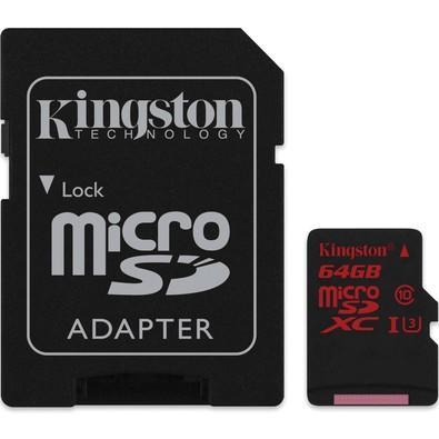 Cartão de Memória Kingston 64GB SDCA3/64GB