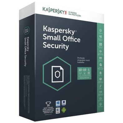 Kaspersky Small Office Security Multidispositivos 10 PCs + 10 Mobile + 1 Server