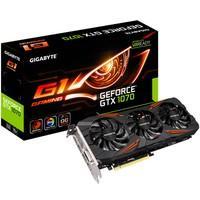 Placa de Vídeo VGA Gigabyte NVIDIA GeForce GTX 1070 G1 Gaming 8G - GV-N1070G1 Gaming-8GD
