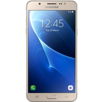 Smartphone Samsung Galaxy J7 Metal, 16GB, 13MP, Tela 5.5´, Dourado - SM-J710MN/DS
