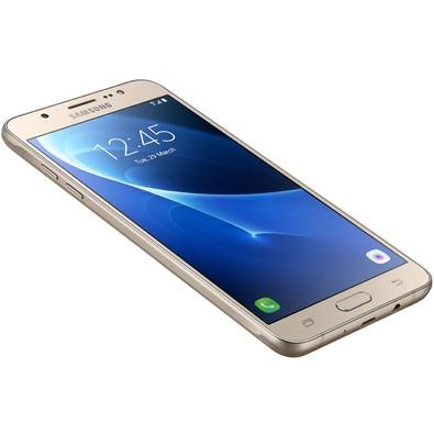 Smartphone Samsung Galaxy J7 Metal SM-J710MN/DS, Octa Core, Android 6.0, Tela 5.5, 16GB, 13MP, 4G Desbloq - Dourado