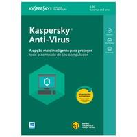 Kaspersky Antivírus 2018 1 PC - Digital para Downl..