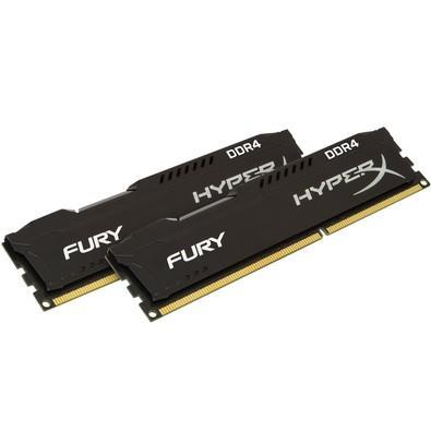 Memória HyperX Fury, 16GB (2x8GB), 2133MHz, DDR4, CL14, Preto - HX421C14FB2K2/16