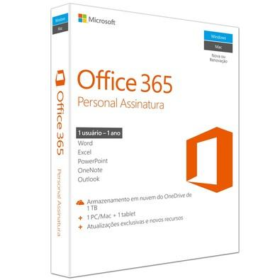 Microsoft Office 365 Personal 32/64 Bits PC/MAC QQ2-00481