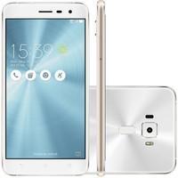 Smartphone Asus Zenfone 3 ZE552KL-1B038BR, Octa Core, Android 6, Tela 5,5´ 64GB, 16MP, 4G, Dual Chip, Desbloqueado - Branco