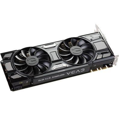 Placa de Vídeo VGA EVGA NVIDIA GeForce GTX 1070 SC 8GB GDDR5 Black Edition - 08G-P4-5173-KR