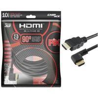 Cabo HDMI MD9 2.0 M/HDMI M 2M 90Graus 7528