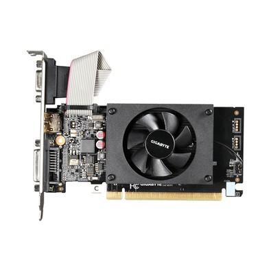 Placa de Vídeo Gigabyte NVIDIA GeForce GT 710 2G, DDR3 - GV-N710D3-2GL (Rev. 2.0)
