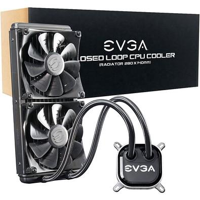 WaterCooler EVGA CLC, 280, LED RGB, 400-HY-CL28-V1