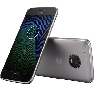 Smartphone Motorola Moto G5 Plus, 32GB, 12MP, Tela 5.2´, TV Digital, Platinum - XT1683
