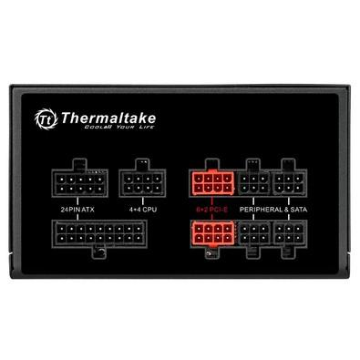 Fonte Thermaltake 750W 80 Plus Gold Modular RGB ToughPower TPG-0750F-R