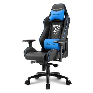 Cadeira Gamer Sharkoon Shark Skiller, Black Blue - SGS3