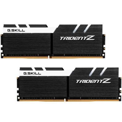 Memória Ram Trident Z 16gb Kit(2x8gb) Ddr4 3200mhz F4-3200c16d-16gtzkw G.skill
