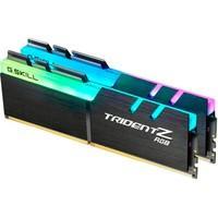 Memória G.SKill Trident Z RGB, 16GB (2x8GB), 2400MHz, DDR4, CL15, Preto - F4-2400C15D-16GTZR