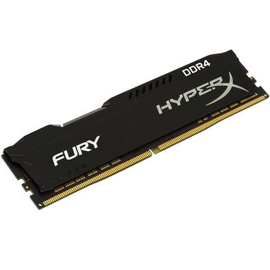 Memória Kingston HyperX FURY 16GB 2666Mhz DDR4 CL16 Black - HX426C16FB/16