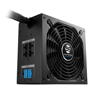 Fonte Sharkoon 750W 80 Plus Bronze Semi Modular SilentStorm Icewind Black