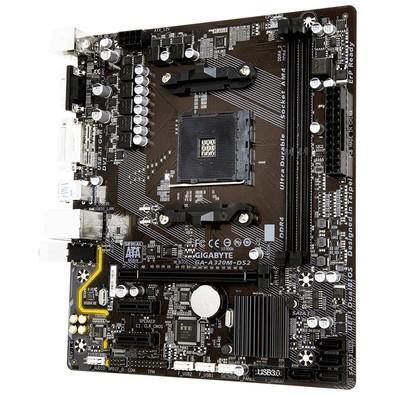 Placa-Mãe Gigabyte GA-A320M-DS2, AMD AM4, mATX, DDR4
