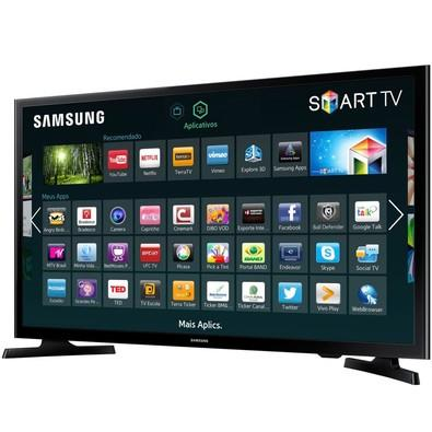 Smart TV LED 40´ Full HD Samsung, 2 HDMI, USB, Wi-Fi - LH40RBHBBBG/ZD