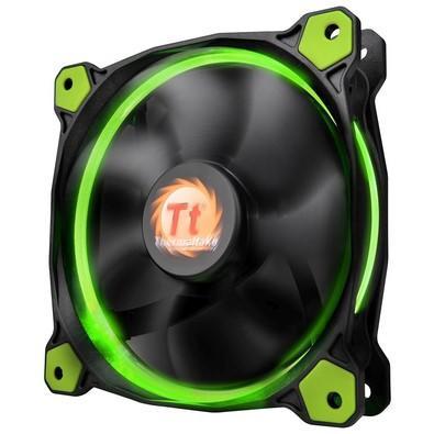 Cooler FAN Thermaltake Riing 12 Radiator Fan Led Green 1500RPM - CL-F038-PL12GR-A