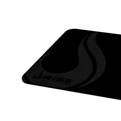 Mousepad Rise Gaming Full Black Médio Fibertek - RG-MP-04-FBK