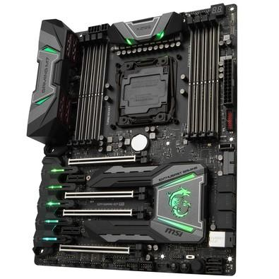 Placa-Mãe MSI p/ Intel LGA 2066 ATX X299 GAMING M7 ACK DDR4