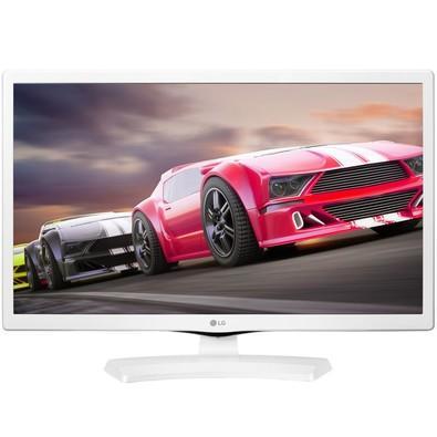 TV Monitor LG 24´, HD, Branco - 24MT49DF-WS