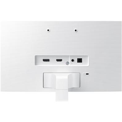 Monitor Samsung LED 32´ Widescreen Curvo, Full HD, HDMI/Display Port, Branco - LC32F391FWLXZD