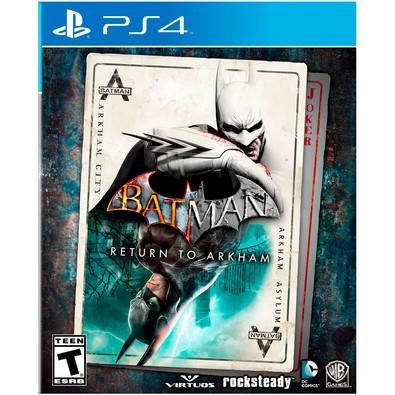 Game Batman: Return to Arkham PS4