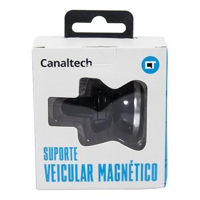 Suporte Veicular Magnético CanalTech - Prata -7802