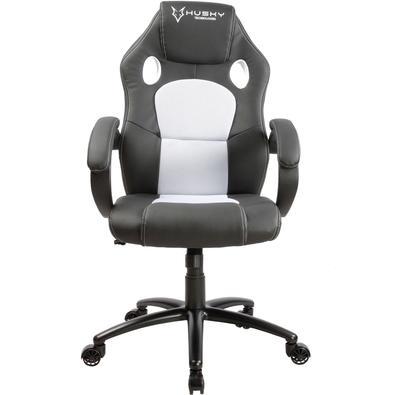 Cadeira Gamer Husky Snow, Black White - HSN-BW