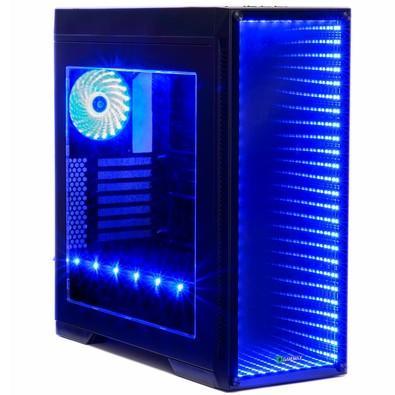 Gabinete Gamer Gamemax M908 Infinit 3 FANs com LED sem Fonte