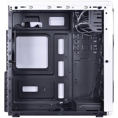 Gabinete Vinik Midtower Vx Gaming Guardian Branco Full Window com 2 FAN Azul Frontal 120mm Grdbcoaz2fca