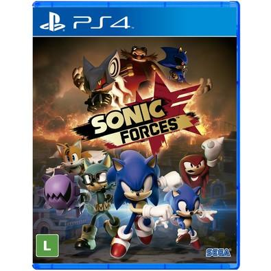 Game Sonic Forces PS4