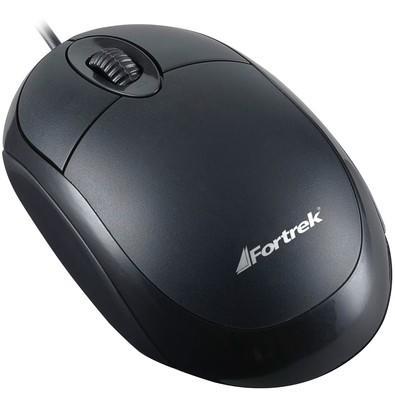 Mouse Fortrek OML-101 Preto 800DPI - 62845