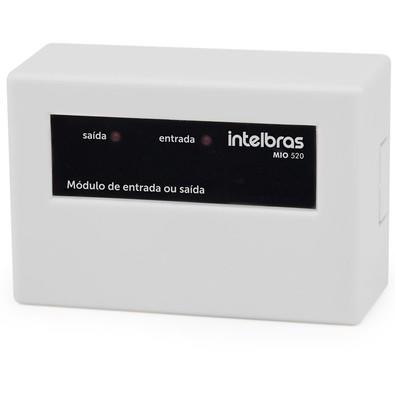Módulo de Entrada ou Saída Intelbras LED Indicador MIO 520 Branco 4616646
