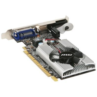 Placa de Vídeo VGA NVIDIA MSI GEFORCE GT 210 1GB DDR3 N210-MD1G/D3