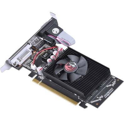 Placa de Vídeo VGA PCYes NVIDIA GeForce GT 210 1GB DDR2 64Bits com Kit Low Profile Incluso - PPV210GT6401D2LP