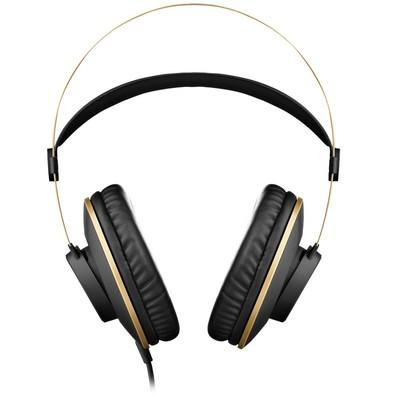 Headphone AKG Preto e Dourado K92 64726