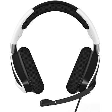 Headset Gamer Corsair Void PRO USB, RGB, Surround 7.1, Drivers 50mm, Branco - CA-9011155-NA