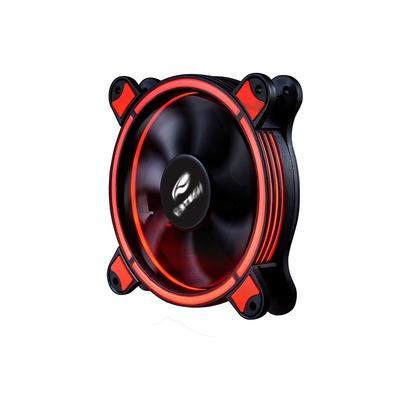 Kit Cooler FAN C3Tech 2 Unidades com LED RGB 120mm + 1 Módulo Controlador e 1 Controle Remoto F7-L500RGB