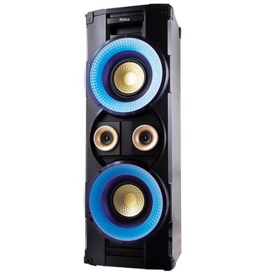 Caixa Acústica Portátil Philco - Bluetooth, MP3, USB, Aux. e FM 1000W RMS Bivolt Preto c/ Bateria Interna - PHT10000 056603719