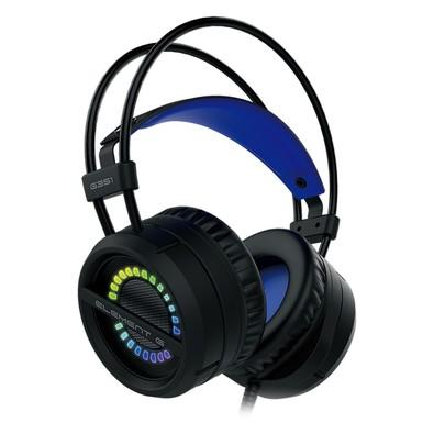 Headphone Gamer Element G RGB, USB, Azul - G351