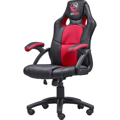 Cadeira Gamer PCYes Mad Racer V6 Vermelho