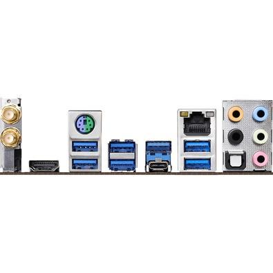 Placa-Mãe ASRock X470 Master SLI/AC, AMD AM4, ATX, DDR4