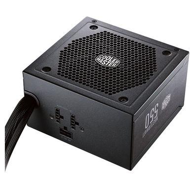 Fonte Cooler Master 550W 80 Plus Bronze Semi-Modular MasterWatt - MPX-5501-AMAAB