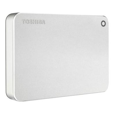 HD Toshiba Externo Portátil Canvio Premium para MAC, 2TB, USB 3.0, Prata - HDTW120XCMCA