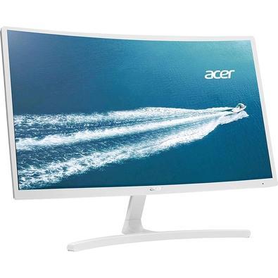 Monitor Acer LED 23.6´ Widescreen Curvo, Full HD, HDMI/VGA, FreeSync, Branco - ED242QR WI
