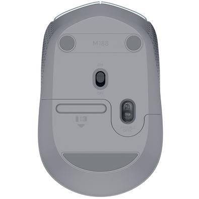 Mouse Logitech M170 Sem Fio Prata - 910-005334