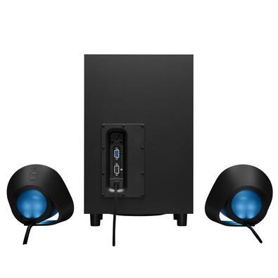 Caixa de Som Gamer Logitech G560 7.1 Ultra Surround 240W RGB Lightsync USB/P3/Bluetooth - 980-001310